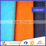 11 wale mid-wale 100 cotton dyed corduroy fabric for garment and pants