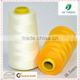 Manufacture 40/2 5000 yards 100% Spun Polyester Sewing Thread                                                                                         Most Popular