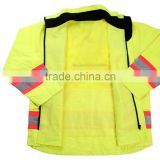 Warning Reflective Safety Vest Waterproof Fabric China Wholesale Clothing