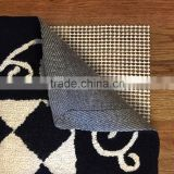 customized PVC foam non-slip rug pads for rugs on carpet hot selling