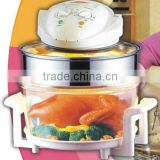 17L countertop convection oven with extender ring
