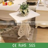 Livingroom Furniture Tea Table Design Wooden Square Corner Table Modern Wooden Corner Table