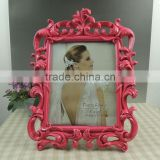 Wholesale wedding decor pink baroque picture frame