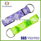 China supplier premium design cheap items promotional gifts keychain short lanyard with keyring