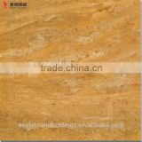 Luxury travertine design gold tile, micro crystal glass surface tiles, glazed floor tile