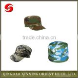 Popular Camo Cotton Military Cap Hat for hiking,army hat