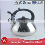 Heat resistant plastic handles non-electric water jug tea kettle stainless steel induction kettle