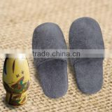 Plastic Dot Sole Outsole and Disposable Slippers Close Toe Hotel Anti-slip Hotel Bedroom Slipper