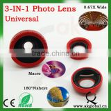 HOT universal digital camera wide angle lens macro lens for nikon canon