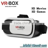 Gadgets 2016 newest 3.5-6 inch 3d vr glasses virtual reality with Bluetooth Remote control