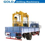 Truck Mounted Diesel Power Rotating Drilling Water Well Drilling Rig, Mineral Drilling Rig, Core Drillign Rig