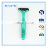 no electric changeable blade triple disposable razor