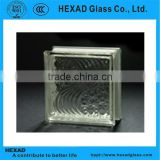 Clear Sea Wave Glass Block with best quality                                                                         Quality Choice