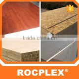 wood grain color melamine paper coated plywood for decorate