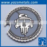 custom high quality metal tungsten coin