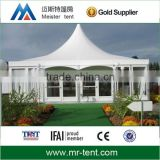 Aluminum frame indian wedding tent with decorations for outdoors