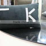 Cheap outdoor furniture Jewelry embroidered velvet for home decorative square velvet sofa cushion