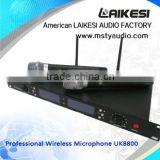 UK-8800 Professional UHF wireless microphone system