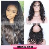 Wholesale Factory Supply Directly Virgin Human Hair Lace Closure, Full Cuticle,Brazilian 360 Lace Frontal wholesale