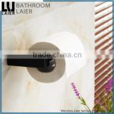 Elegant Hotel Decorative Zinc Alloy Soft Feeling Bathroom Sanitary Items Wall Mounted Toilet Paper Holder