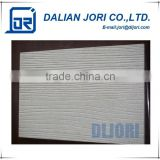 Green Environmental Fireproof External Wall Cladding Wood Grain Fiber Cement Siding Panel
