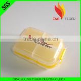 2016 Hot Sales For Promotion Wholesales Best Selling Free Sample 7 Days Plastic Pill Box/Travel Pill Cases