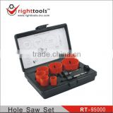 9pc Bi-metal Hole Saw Set(Electrician)