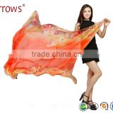 Good Quality Imitated Silk Fabric Women Ladies Scarf Shawls Wraps Poncho for Decoration Seaside