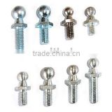 ball stud,threaded ball stud,ball stud fasteners for Gas Spring / Hood Support / Gas Strut / Air Spring / Gas Lift