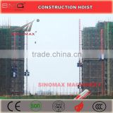 1T Double Cage/Cabin SC100/SC100 Building Construction Hoist, Construction Elevator, Construction Lifter for sale in China
