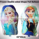 Most fashion cartoon baby helium balloon,16 inches printed balloon, inflatable custom frozen balloon