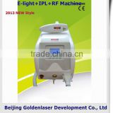 Medical 2013 Hot Selling Multi-Functional Beauty Freckle Removal Equipment E-light+IPL+RF Machine Foto Epilation