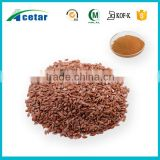 HACCP factory manufacturing golden flax seed extracts for women health 40% SDG