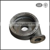 Sand casting GCD450 ductile iron turbine air pump casing for blower