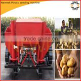 Neweek tractor mounted 2 rows spud planter potato seeding machine