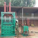 Hydraulic vertical balers for Plastic bottles, ring-pull can baling press machine XSYY-80T