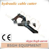 high efficiency electric cable cutters hydraulic cable cutter motor stripping cable wire cable cutter
