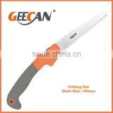 Plastic handle garden folding saw