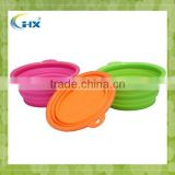 Wholesale Alibaba none stick silicone collapsible bowl for camping