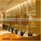 Hanging fashion metal chain mail curtain for salon partition