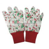 adorable kids cute garden dig glove/canvas glove
