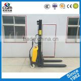 2t Walkie/Standing Electric Stackers powered pallet high fork lifter