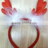 Kids novelty hair decoration feather palm line christmas headband