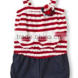 carters baby clothes Lovely design baby romper wholesale stripes baby cotton jumpsuits toddler cotton Teddies stripe coveralls