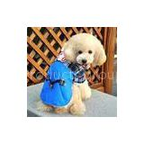 Personalized Europe style Blue Cotton Dog Costume Coat For Large Dogs For PET Warmly / Autumn clothe