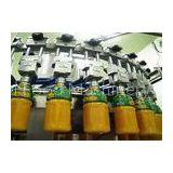 Complete Mini Automated Fresh Fruit Juice Making Production Line With CIP Cleaning System