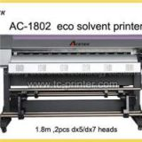 AC-1802 6 Feet Dual Dx7 Print Head Small Format Eco Solvent Printer