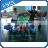 floating inflatable air water walking shoes for water park inflatable water shoes promote