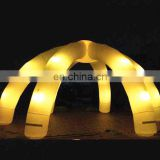 Hot sale led light inflatable wedding arch