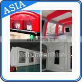 Environmental Portable Standard Paint Booth, China Supplier High Quality Retractable Paint Booth